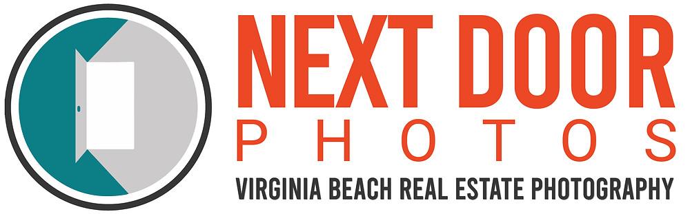 Next Door Photos Virginia Beach Real Estate Photography Logo