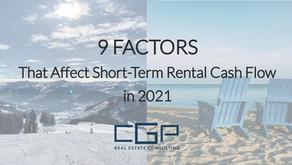 9 Factors That Affect Short-Term Rental Cash Flow in 2021
