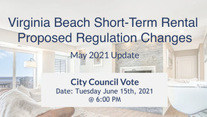 [May 2021] Proposed Changes to Virginia Beach Short-Term Rental Laws