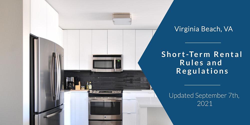 CGP Real Estate breaks down the rules and regulations for Short-term Rental Properties in Virginia Beach, VA.