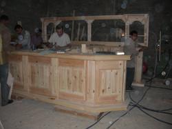 Bar montage