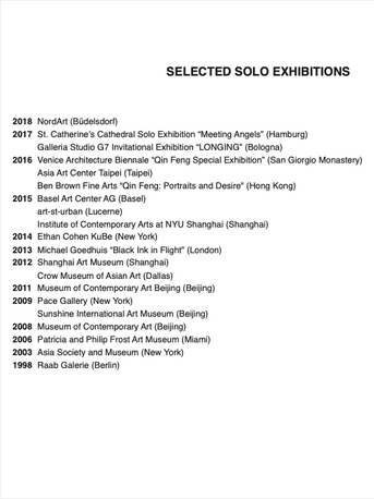 Selected Exhibitions