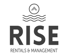 Header logo for RISE Rentals & Management