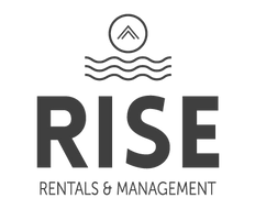 Header logo for RISE Rentals & Management