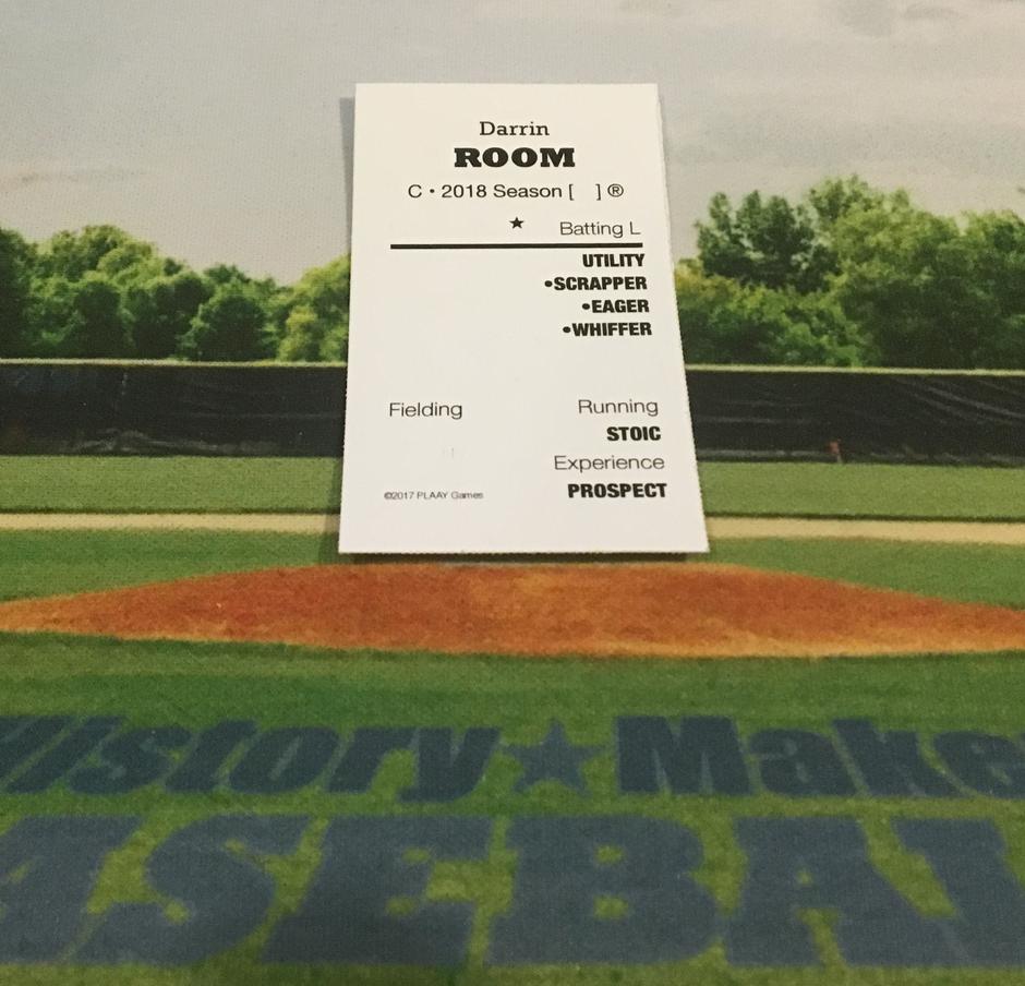 Making Room: History Maker Baseball Season Thoughts