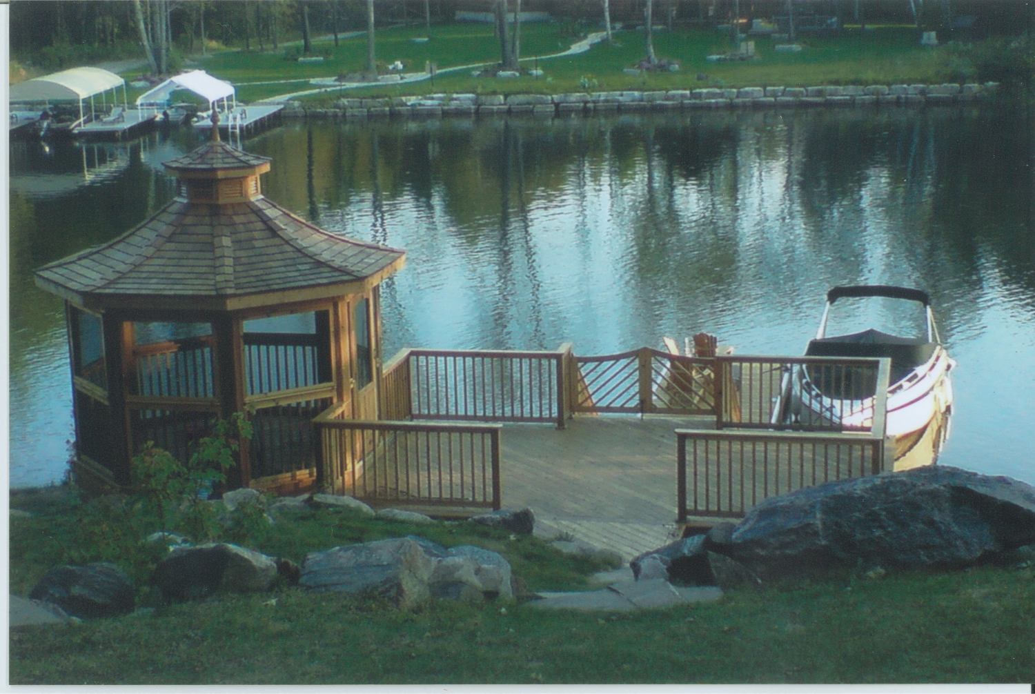 Gazebo and dock design
