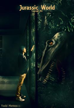 Jurassic Word - Concept Artwork