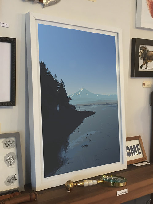 """Art Print """"Talehquah Dock"""""""