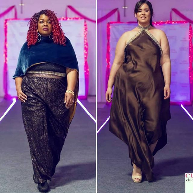 Two looks on the runway!