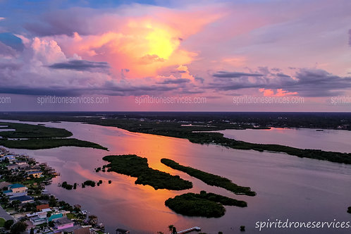 Sunset in Daytona Beach Shores