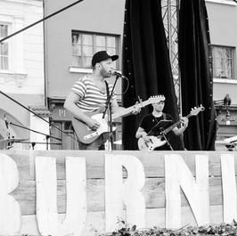 Burning Square