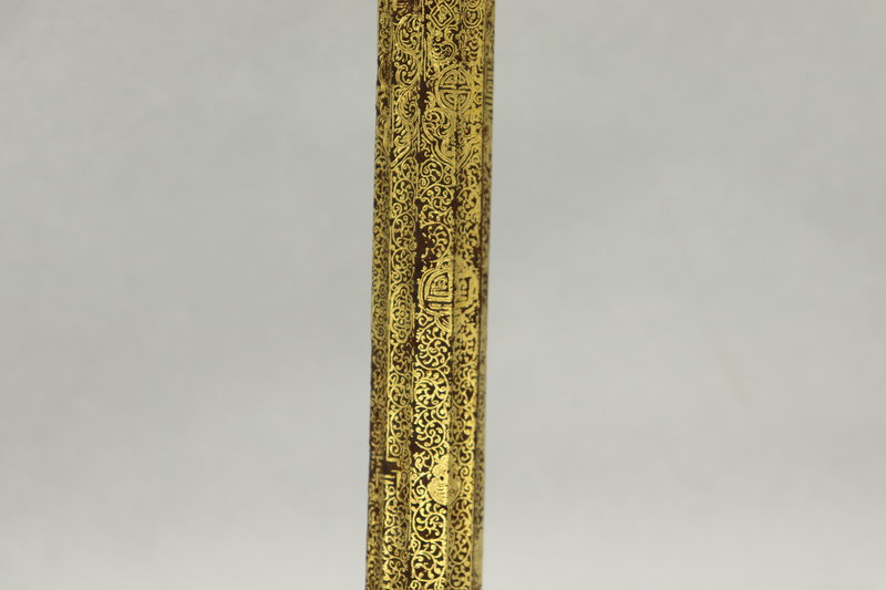 Porte instrument rituel, détail