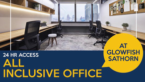 All inclusive serviced offices at Glowfish Sathorn