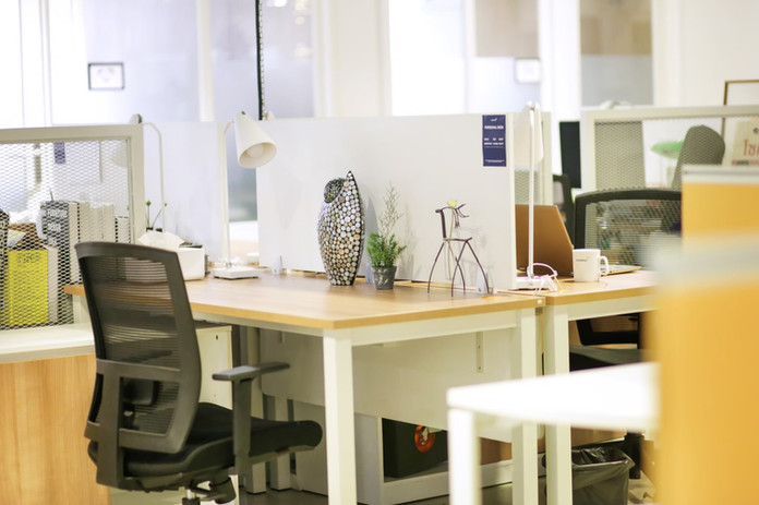 Co working space area
