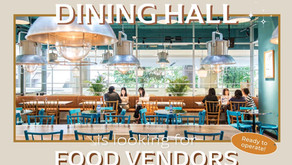 Glowfish Dining Hall is looking for Food vendors!
