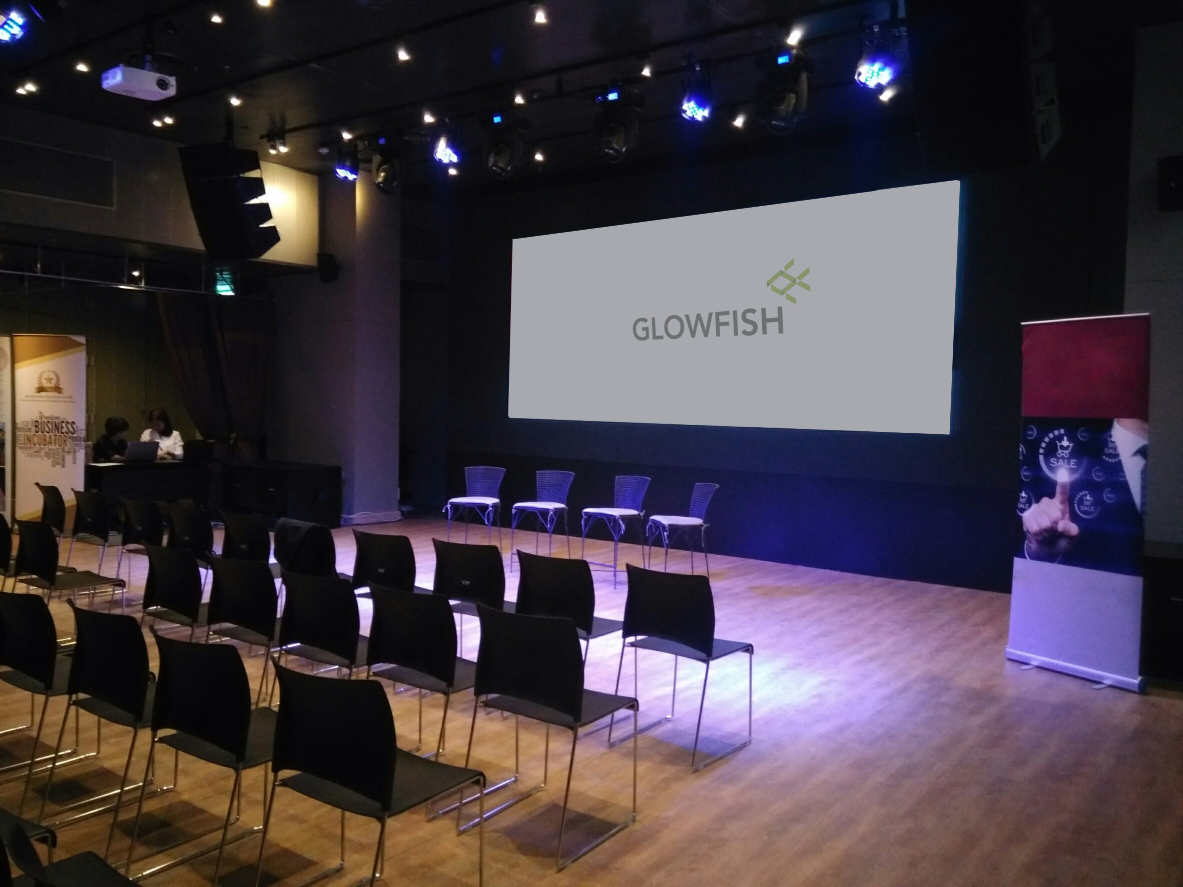 Conference Halls | Glowfish