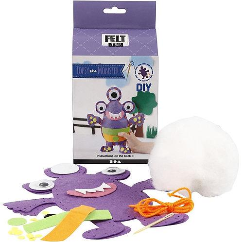 Topsy the Monster - Felt Craft Kit