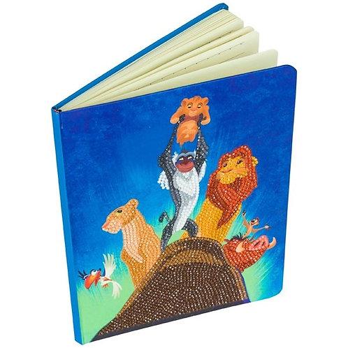Disney Crystal Art Notebook - Pride Rock