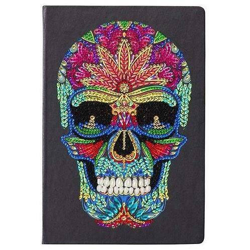 Crystal Art Notebook - Skull