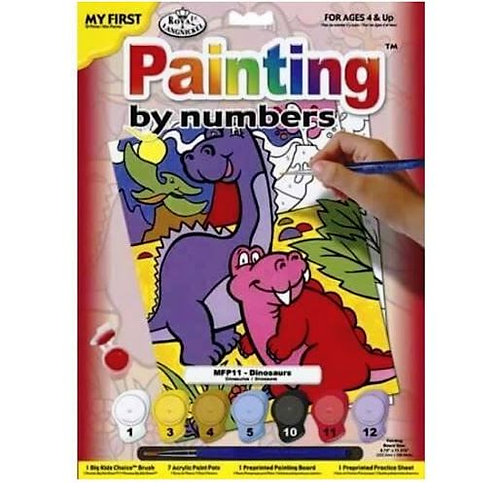 Dinosaurs - Junior Paint by Numbers