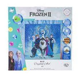Disney Frozen Friends Crystal Art 70x70cm