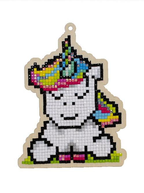 Rainbow Unicorn - 5D Diamond Art