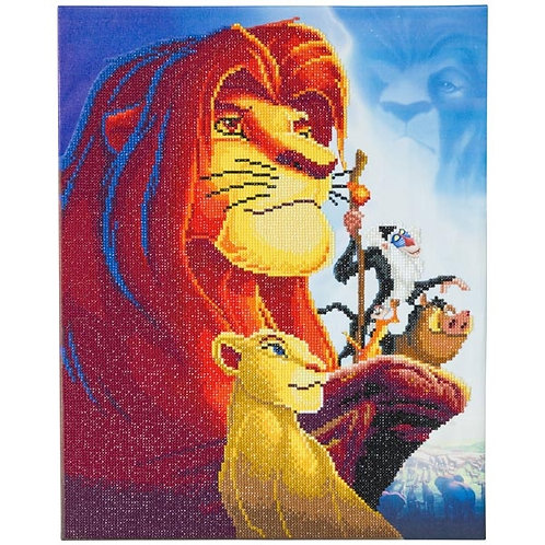 Disney Crystal Art Canvas - Lion KIng