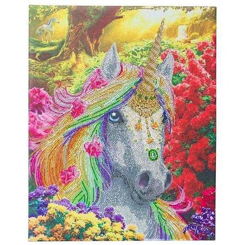 Crystal Art Unicorn Forest 40x50cm