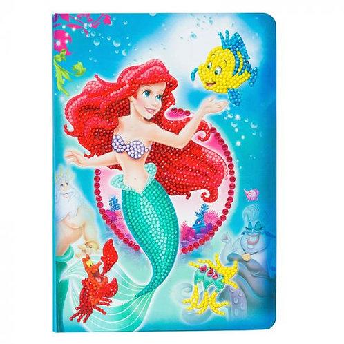 Disney Crystal Art Notebook - Little Mermaid