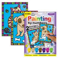 Painting by Numbers - Kids and Adult Kits £3