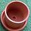 Thumbnail: Clay Pot with Tray - Small