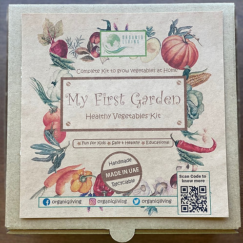 My First Garden - Healthy Vegetables Kit