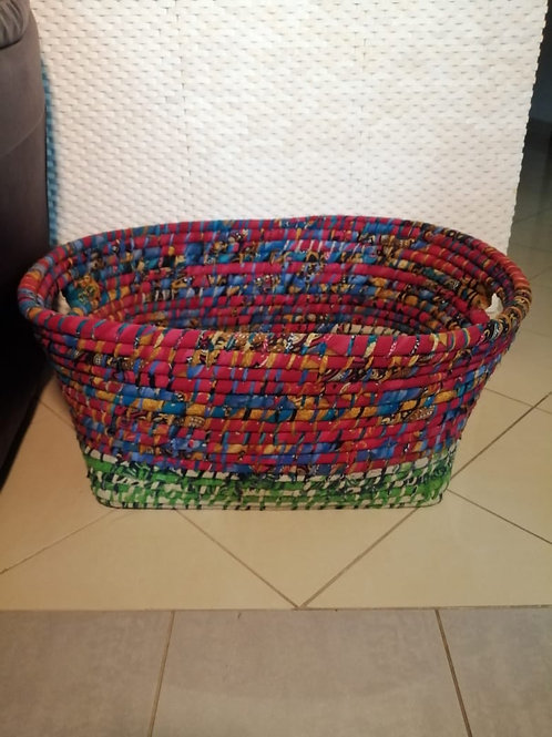 Recycled Cotton Basket L