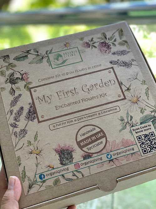 My First Garden - Enchanted Flowers Kit