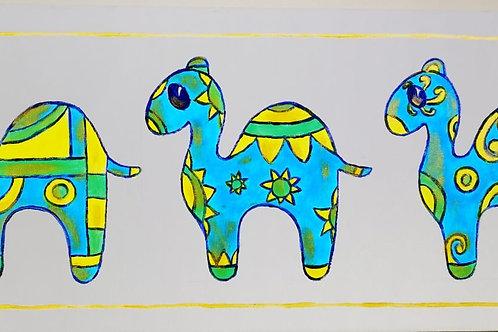 Blue Camels