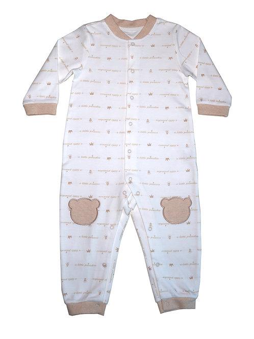 Little Crown Sleepsuit