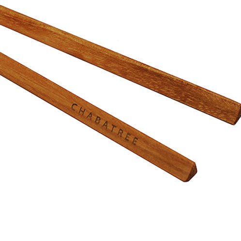 Teak Chopsticks Triangle