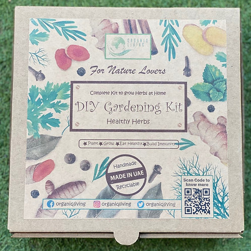 DIY Gardening Kit - Healthy Herbs