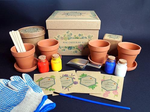DIY Garden Kit for Kids - Herbs & Flowers