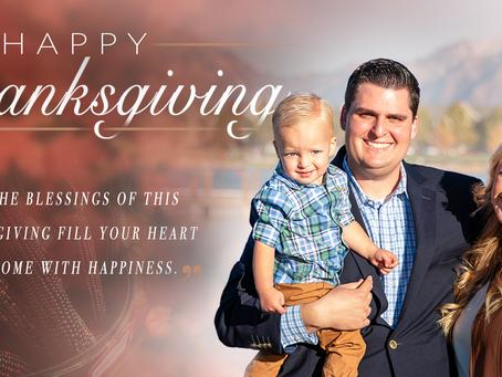 Happy Thanksgiving! Interim Update