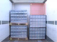 slip sheet palet konteyner istif