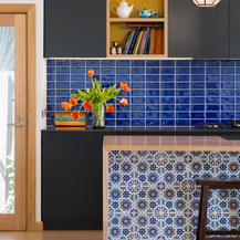 YARRAVILLE   layered kitchen