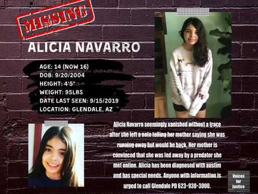Missing: Alicia Navarro