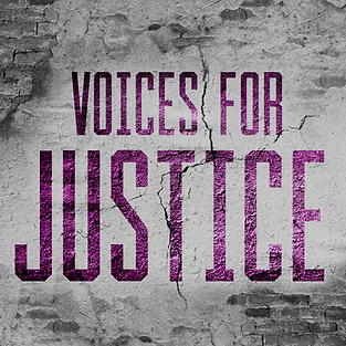 Voices for Justice Podcast Logo