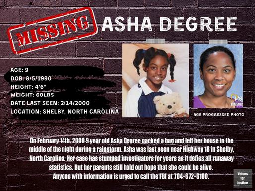 Missing: Asha Degree