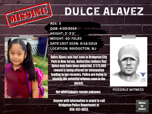 Missing: Dulce Alavez