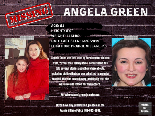 Missing: Angela Green