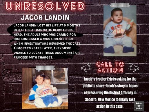 Unresolved: Jacob Landin