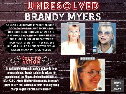 Unresolved: Brandy Myers and The Arizona Canal Killings
