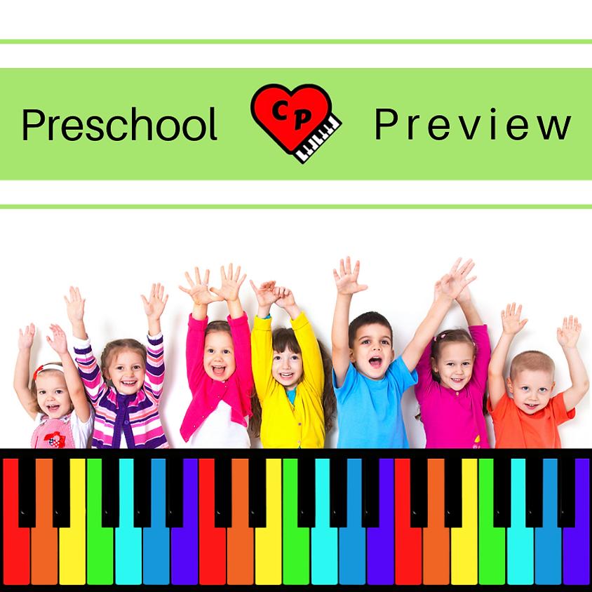Free Preschool Piano Workshop